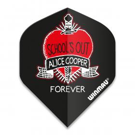 Alice Cooper Schools Out Dart Flight