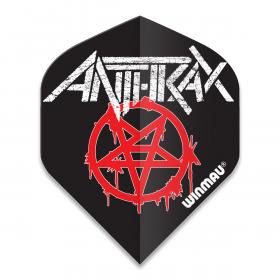 Anthrax Logo Dart Flight
