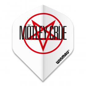 Motley Crue Logo Dart Flight