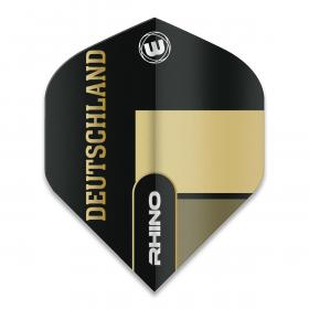 Rhino Black & Gold Flag - Deutschland